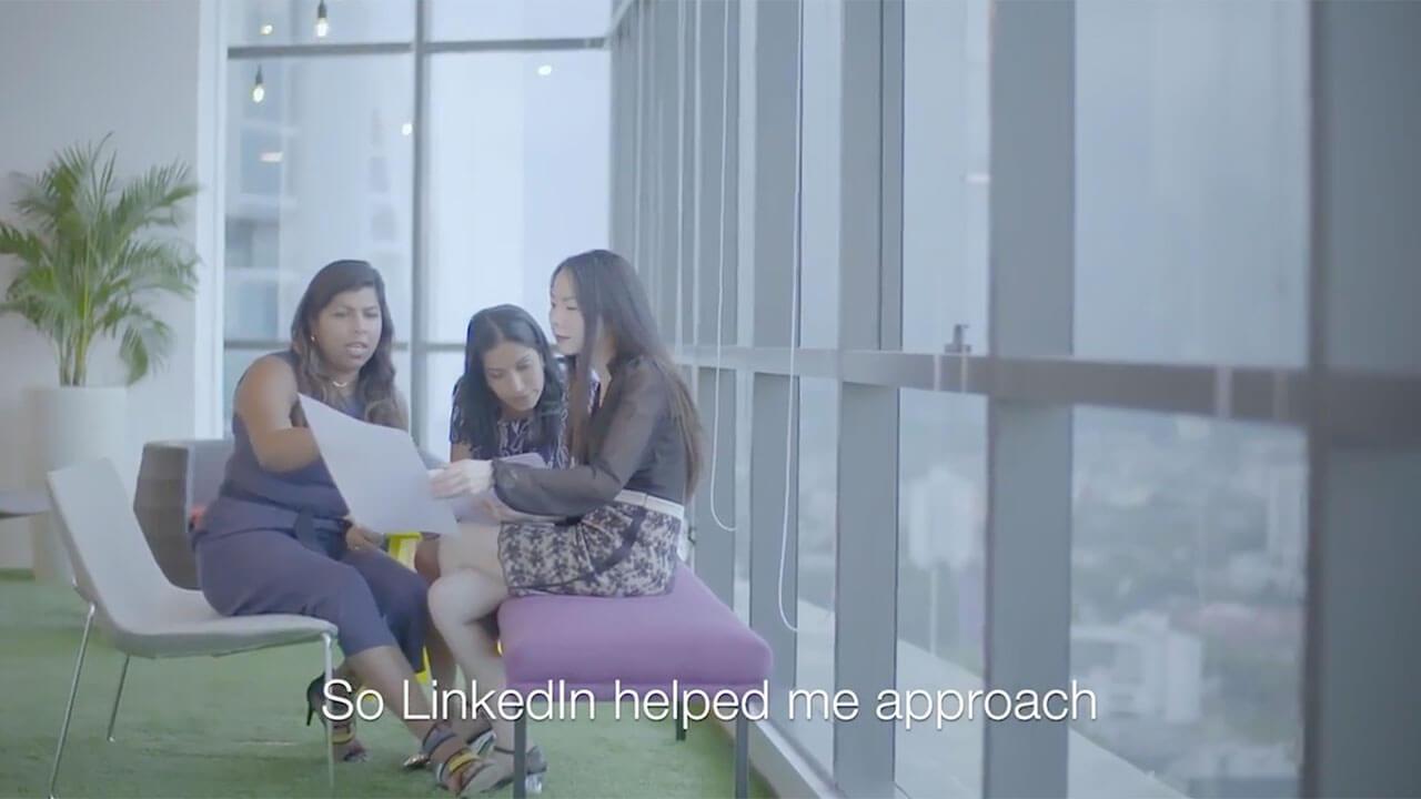 LinkedIn WayIn Campaign